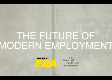 VIDEO: Matthew Taylor on the Future of Modern Employment